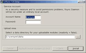 CwRsync Installer